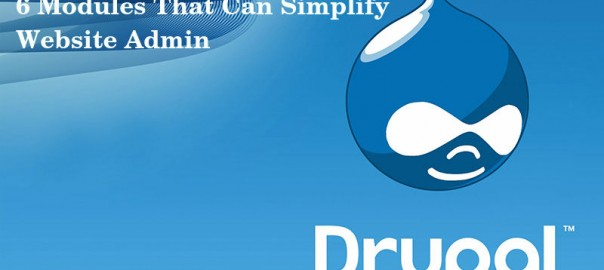 6 Modules That Can Simplify Your Drupal Website Administration