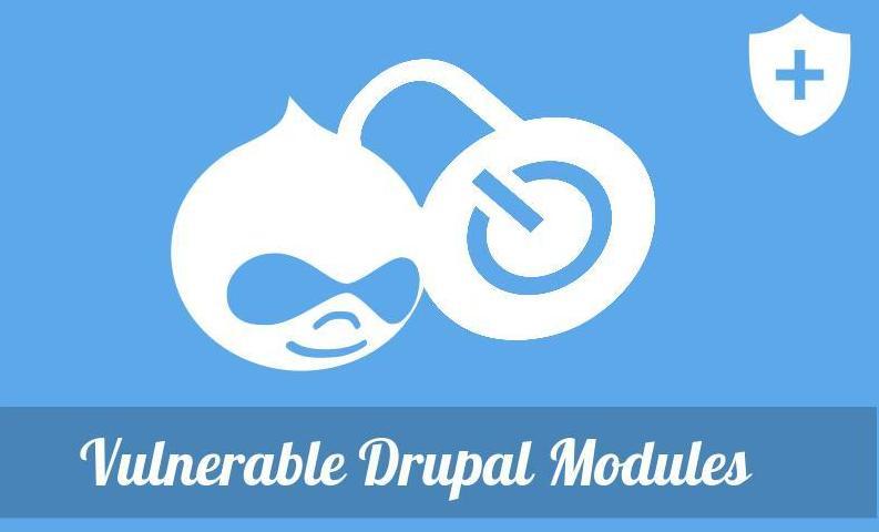 Vulnerable Drupal Modules