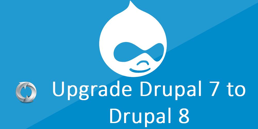 Upgrade Drupal 7 to Drupal 8