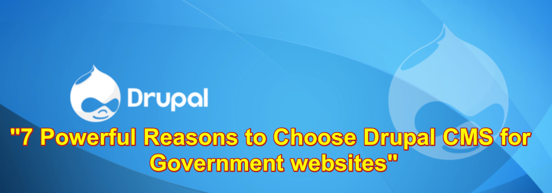 7 Powerful Reasons to Choose Drupal CMS for Government websites