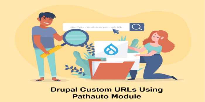 How to Create Drupal Custom URLs Using Pathauto Module?